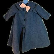 Vintage Madame Alexander Cissy Spring Coat, 1950's