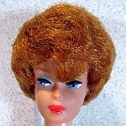 Mattel Barbie BubbleCut w/ Full Coral Lips & Red Hair, 1963
