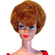 Mattel Barbie BubbleCut w/ Full Coral Lips & Red Hair, 1963