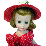 Madame Alexander Cissette in Street Dress w/Hat, 1958