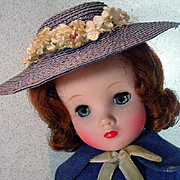 Vintage Madame Alexander Elise Doll in Original Ensemble, 1950's