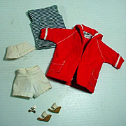 Vintage Mattel Barbie Outfit, Resort Set, 1960