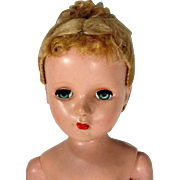 """Arranbee 20"""" Nancy Lee Hard Plastic Doll, 1952"""