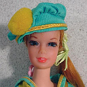 Mattel Vintage Talking Stacey Doll in See Worthy, 1968
