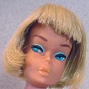 1965 Vintage Blond American Girl Barbie, Original Outfit