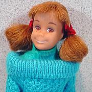 1965 Mattel Skooter Doll in Outdoor Casuals