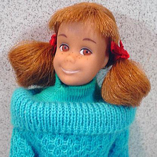 1965 Mattel Skooter Doll in Outdoor Casuals
