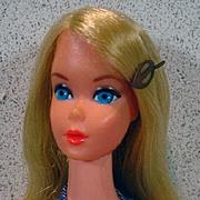 Mattel Busy Barbie Doll w/Accessories, 1972