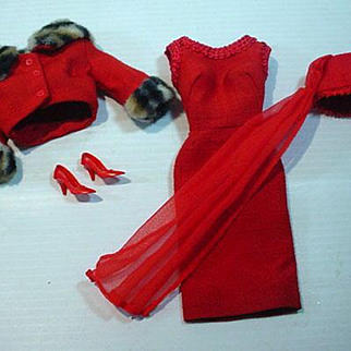 Vintage Mattel Barbie Outfit, Matinee Fashion, 1965