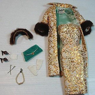 Vintage Mattel Barbie Outfit, Evening Splendor, 1960