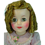 "Ideal 15"" Shirley Temple Doll, All Original, 1958"