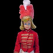 Mattel Blond Midge Doll in Drum Majorette, 1963