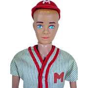 1962 Blond Molded Hair Ken in Play Ball, 1963