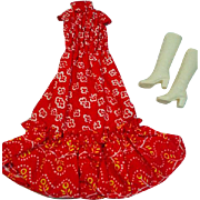 Vintage Mattel Francie Outfit, Simply Super, 1972