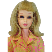 Mattel 1967 Bend Leg Francie Doll in Somethin Else!