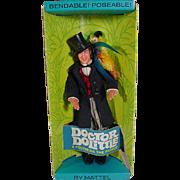 Mattel NRFB 1967 Doctor Dolittle Doll & Polynesia Parrot