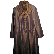 One Of A Kind, Shirred Mink Lined, Ladies Coat
