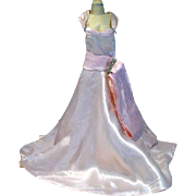 Vintage Madame Alexander Cissy  Torso Evening Gown, 1956