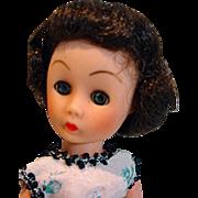Eight Inch Fashion Doll, 1950's
