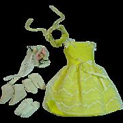 Vintage Mattel Skipper Outfit, Flower Girl, 1964