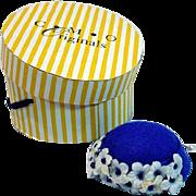 MIB CMO Charles Mo Barbie Size Hat, 1990's