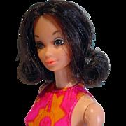Mattel Vintage Walk Lively Steffie Doll, 1972