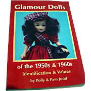 OOP Book, Glamour Dolls of the 1950's and 60's bu The Judds, 1988