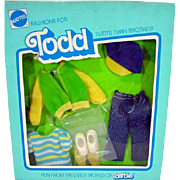 NRFB Mattel European Todd Outfit, 1977