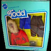NRFB Vintage Mattel European Todd Outfit, 1977