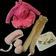 Vintage Mattel Barbie Outfit, Skater's Waltz, 1965