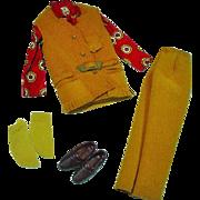 Vintage Mattel Ken Outfit, The Suede Scene, 1971