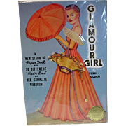 Queen Holder Glamour Girl Paper Dolls, Un-Cut, 1985 Repro Set