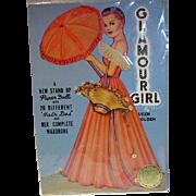Queen Holder Glamour Girl Paper Dolls, Un-Cut, 1985 Repro Set