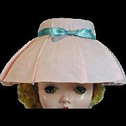 Vintage Madame Alexander Cissy Size Pink Hat
