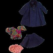 Four Piece Coat and Skirt Ensamble circa 1940's