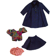 Four Piece Coat and Skirt Ensamble circa 1940's