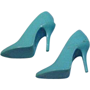 Mattel Barbie Vintage Light Blue Spikes, Japan, 1965
