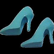 Mattel Barbie Vintage Light Blue Spikes, Japan, 1965