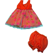 "Vintage Mattel Francie outfit, ""Nighty Brights,"" 1970"