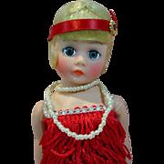 Madame Alexander Cissette Flapper Doll, MIB, 1988
