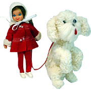 "Mattel Tutti ""Me and My Dog"" Gift Set, 1966"