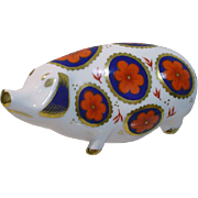 Vintage, Royal Crown Derby Bone China Hog