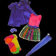 Vintage Mattel Stacey Nite Lightning Gift Set Outfit, 1969