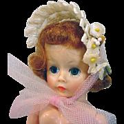 Vintage Madame Alexander Cissette Summer Bonnet, 1950's