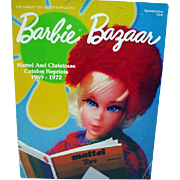 Barbie Bazaar Mattel & Christmas Catalog Reprints, 1969-72, Reference Book, OPP