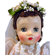 Madame Alexander Elise Bride in Pink, 1959!