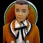 Vintage Mattel Ken Doll in Ken In Mexico, 1964