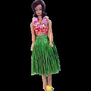 Vintage Mattel Fashion Queen Barbie In Barbie in Hawaii, 1964