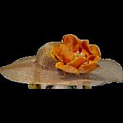 VIntage Madame Alexander Cissy Size Spring Hat, 1950's