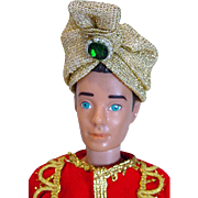 Vintage Mattel Ken in Arabian Nights Outfit, 1964